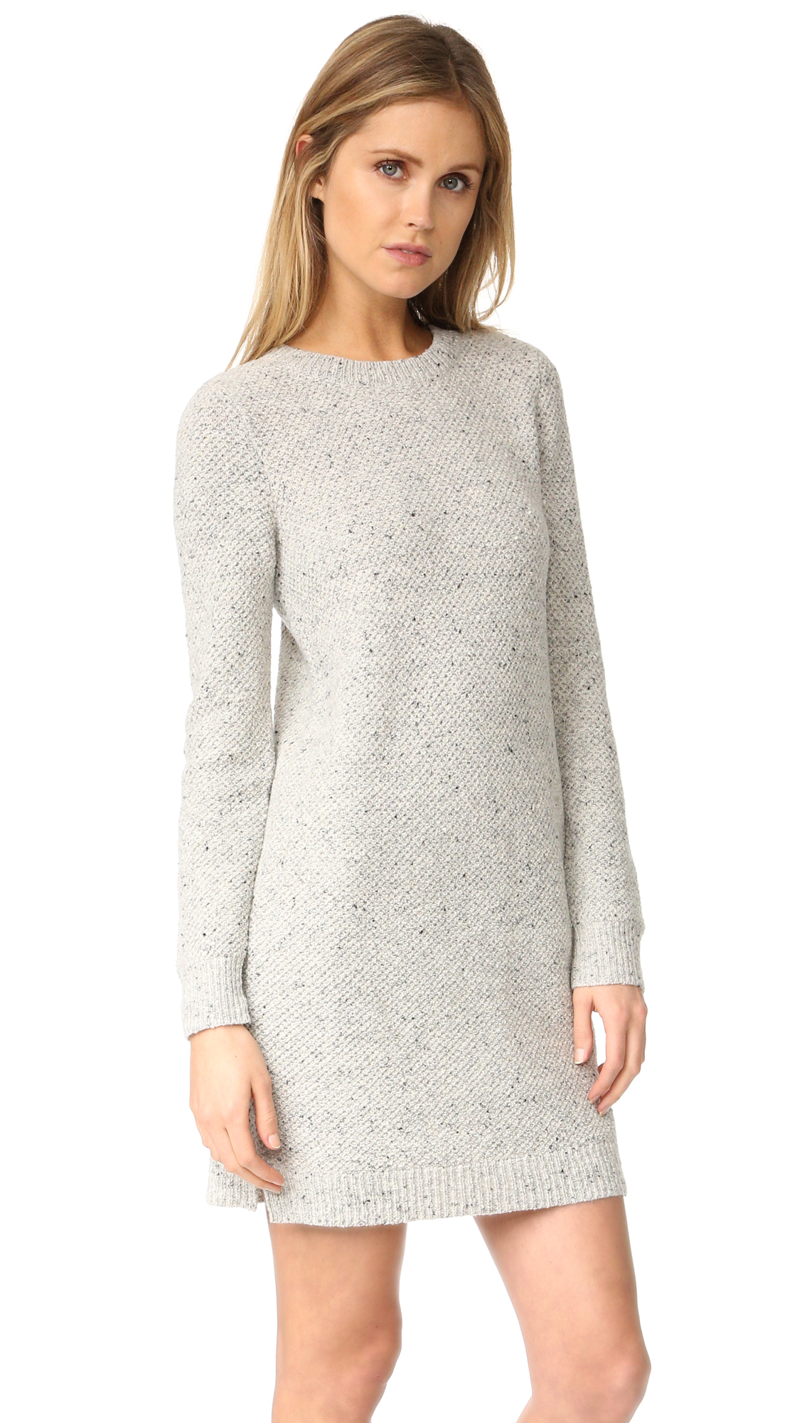 e80530aa99f Madewell Donegal Button Back Sweater Dress