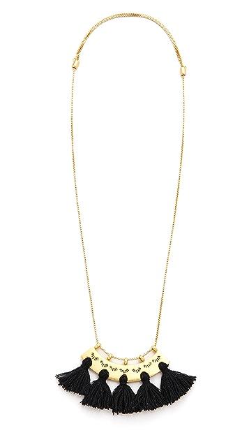 Madewell Tassel Pendant Necklace