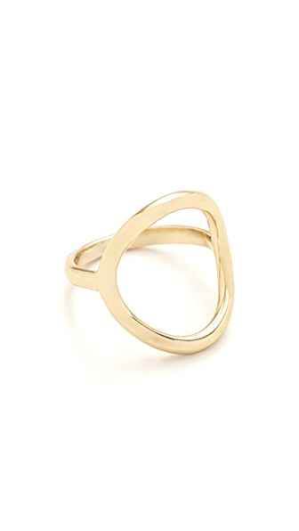 Madewell Big Circle Ring