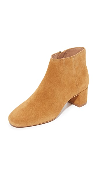 Madewell Malin Booties - Bronzed Birch