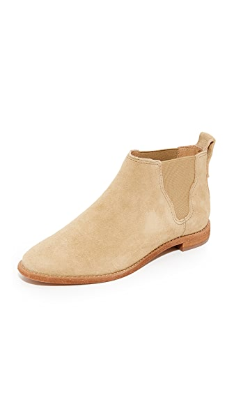 Madewell Bryce Chelsea Boots - Tan Cliff
