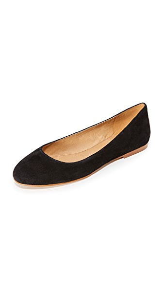 Madewell Finch Ballet Flats - True Black