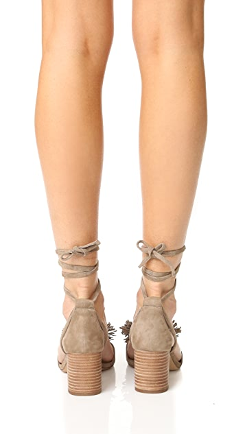 Madewell Lainy Ankle Wrap Sandals