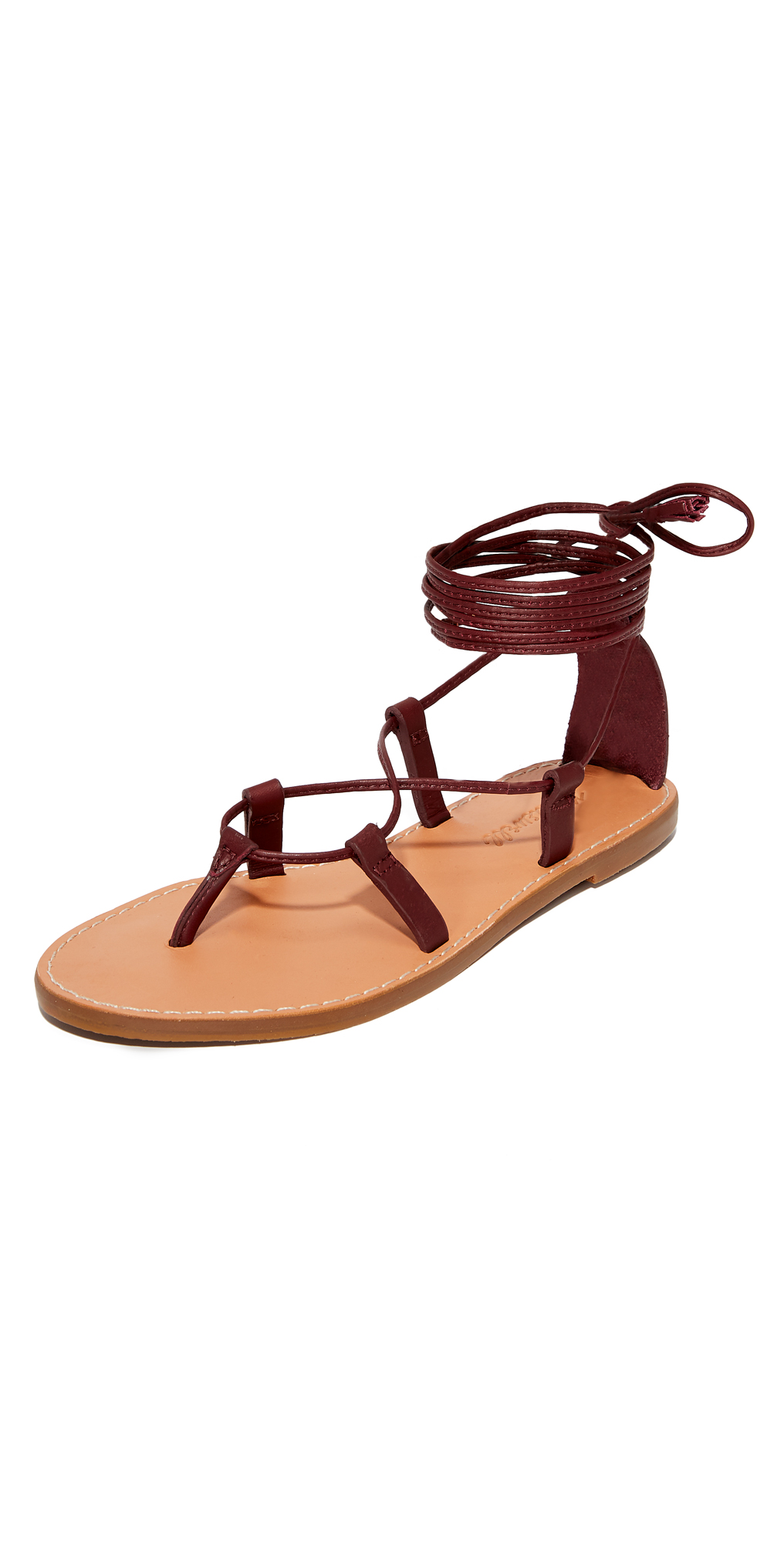 Boardwalk Lace Up Gladiator Sandals Madewell