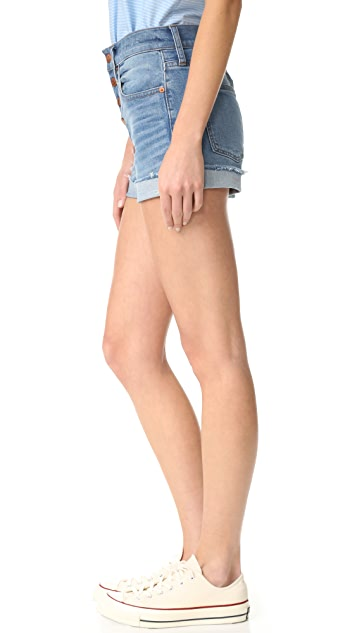 Madewell High Rise Denim Shorts