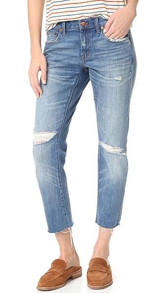 Madewell Узкие джинсы-бойфренды