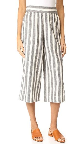 Madewell Укороченная юбка-брюки без застежки с высокой посадкой