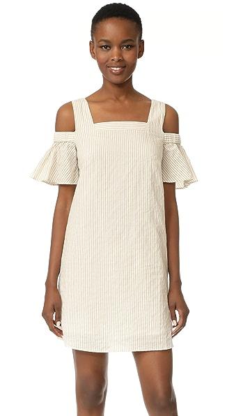 Madewell Cold Shoulder Dress