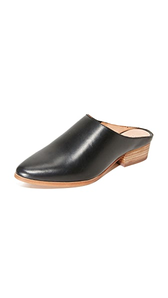 Madewell The Barlow Mules - True Black