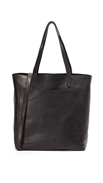 Madewell Medium Transport Tote - True Black