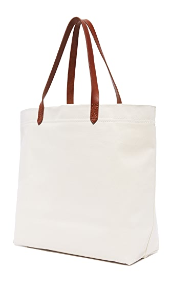 84ceccf6d1 Madewell Canvas Transport Tote