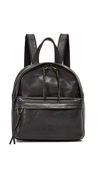 Madewell Lorimer Mini Backpack - True Black