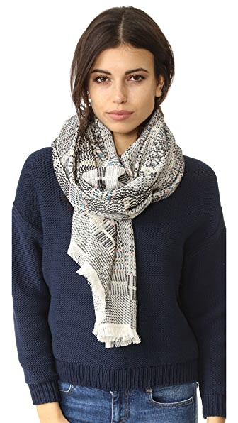 Madewell Guadalupe Jacquard Scarf