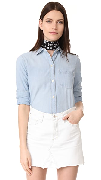 Madewell Ex Boyfriend Shirt - Buckley Wash