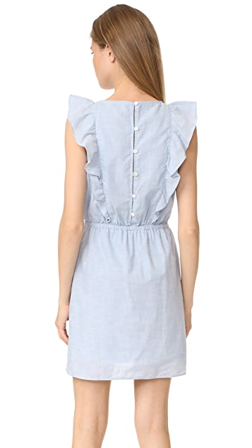 Madewell Bellflower Ruffle Dress
