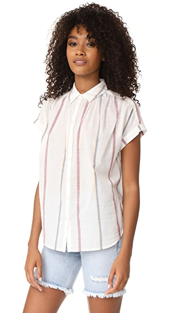 Madewell Central Striped Shirt