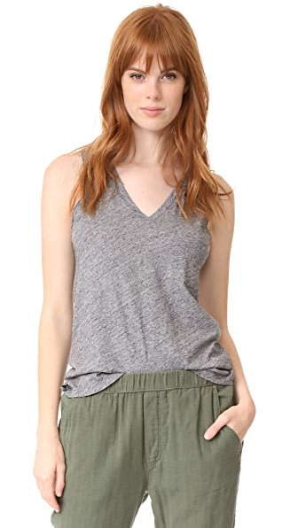 Madewell Whisper Cotton V Neck Tank