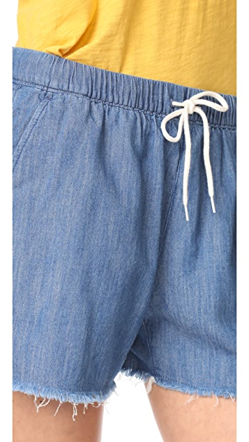 Madewell Pull On Cutoff Shorts