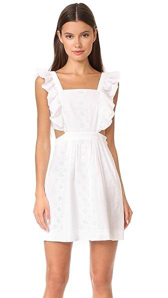 Madewell Eyelet Cutout Dress