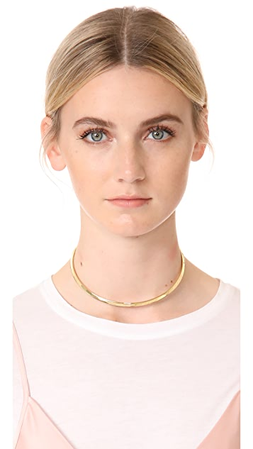 Madewell Delicate Beveled Choker Necklace