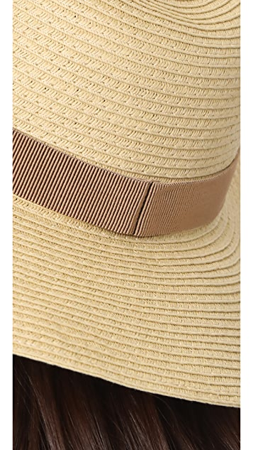 Madewell Stitched Packable Straw Hat