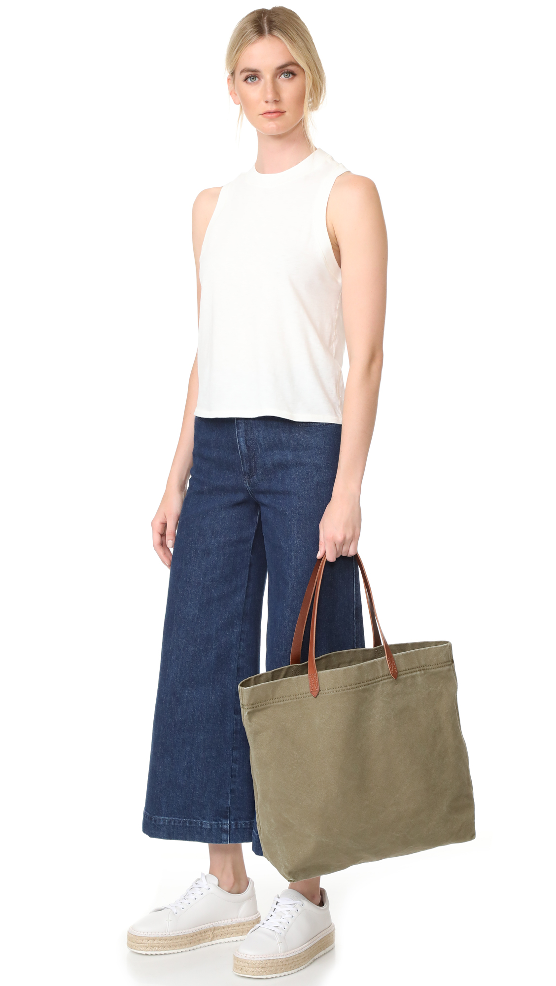 543f30210 Madewell Canvas Transport Tote | SHOPBOP