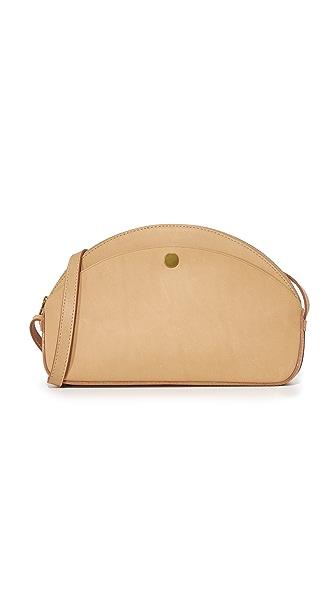 Madewell Mini Half Moon Bag - Linen