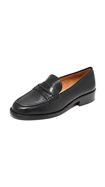 Madewell Elinor Loafers - True Black