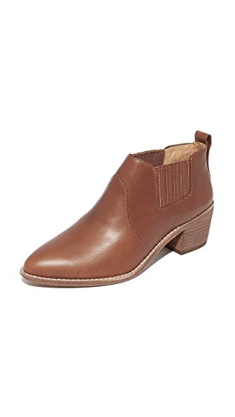 Madewell Reed Low Chelsea Booties