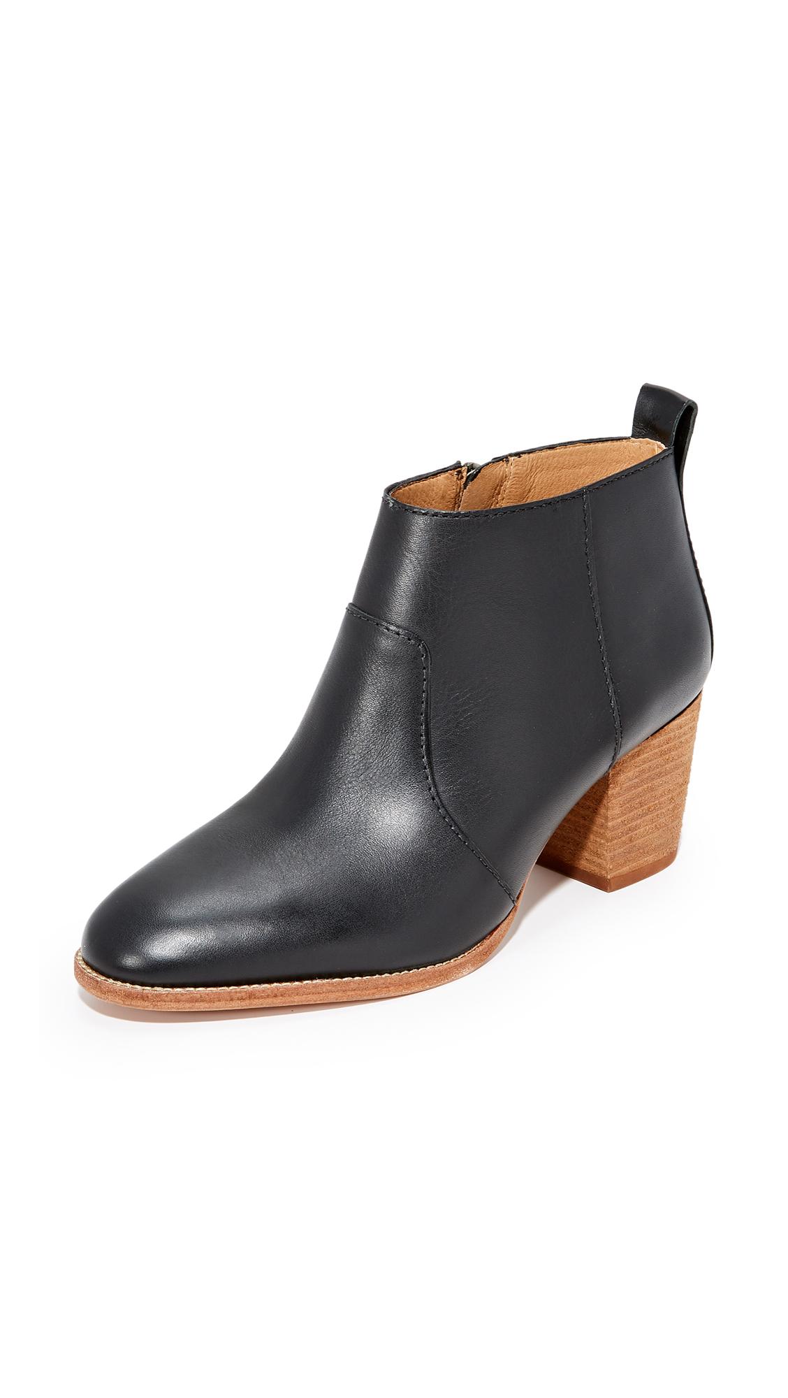 Madewell Brenner Boots - True Black