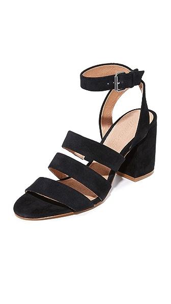 Madewell Bistra 3 Strap Sandals - True Black