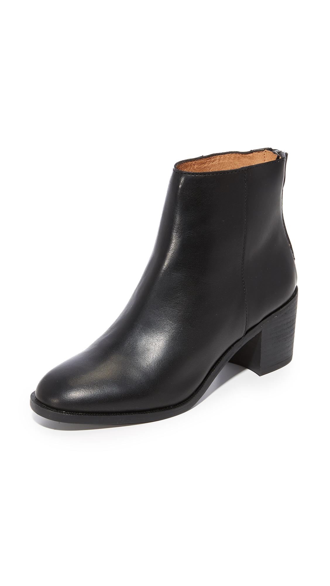 Madewell Pauline Boots - True Black
