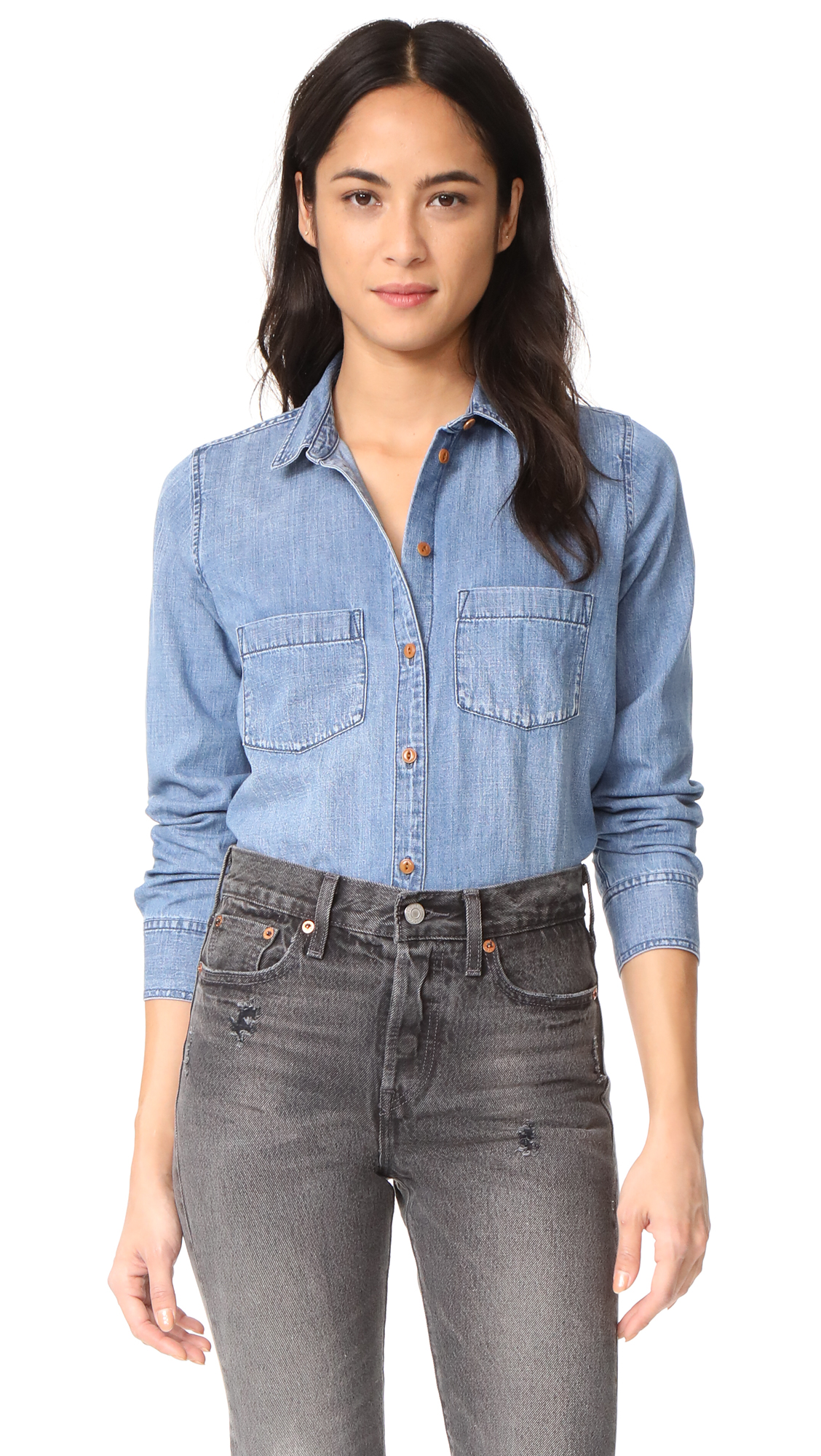 Madewell Denim Shirt - Benwick Wash