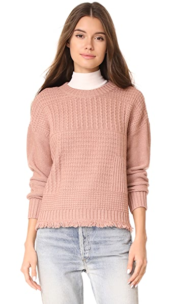 Madewell Stitch Collage Pullover