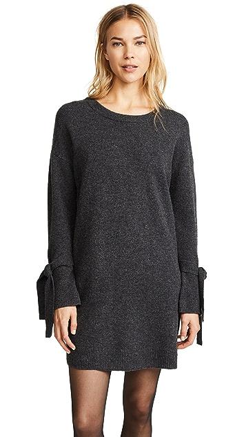 Madewell Tie Cuff Sweater Dress