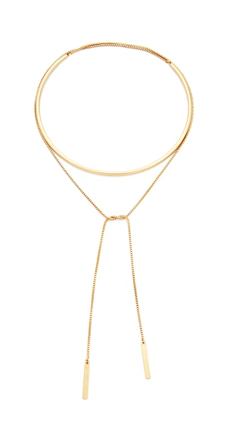 Madewell Collar and Chain Choker Necklace