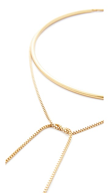 Madewell Chain Choker Necklace