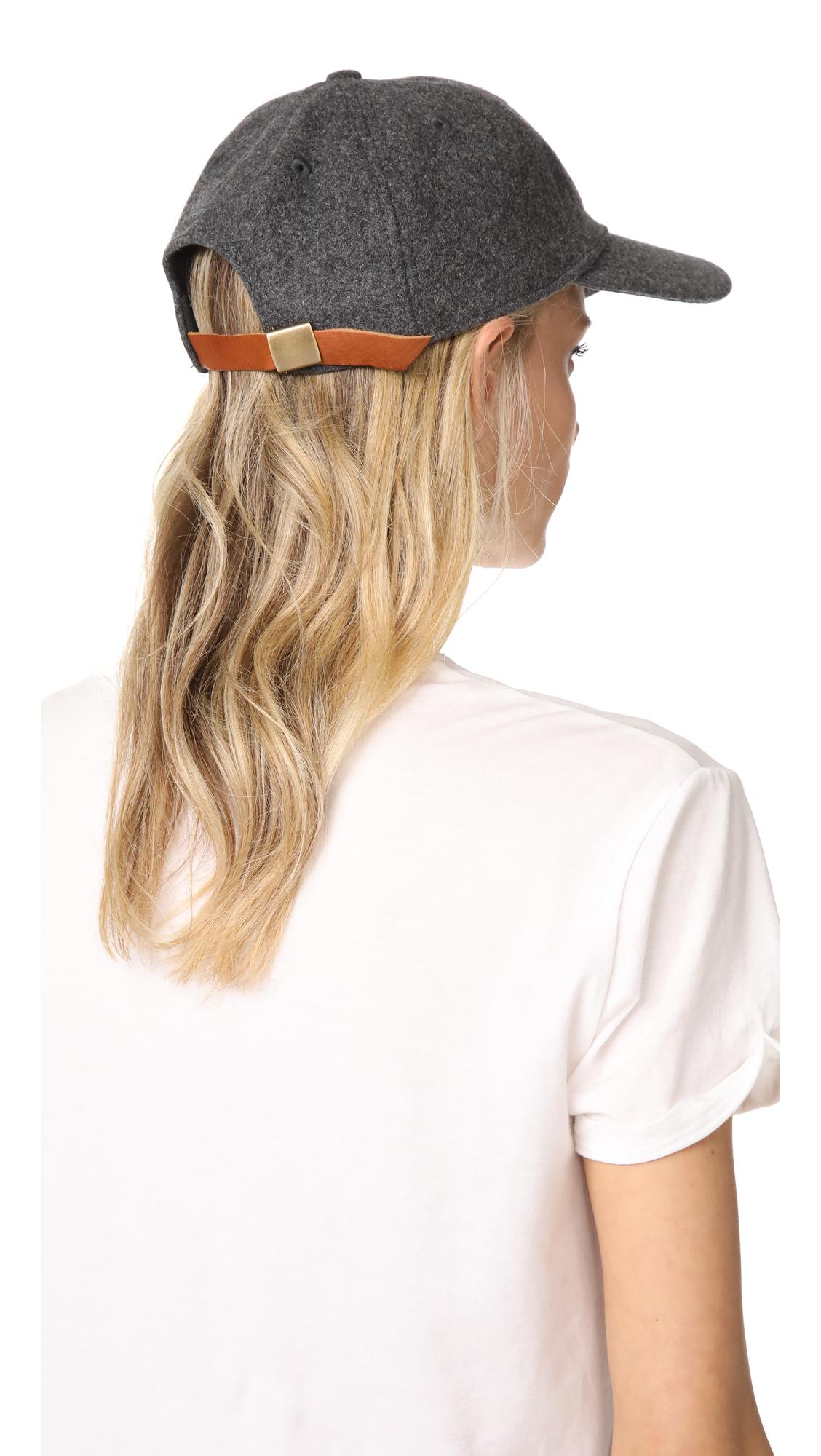548b48d8fb469a Madewell Wool-Blend Baseball Hat | SHOPBOP