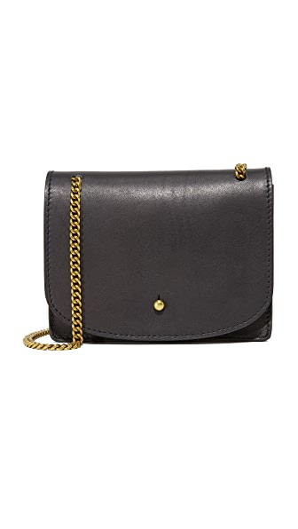 Madewell Chain Cross Body Bag - True Black