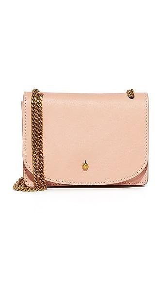 Madewell Chain Cross Body Bag - Tinted Blush