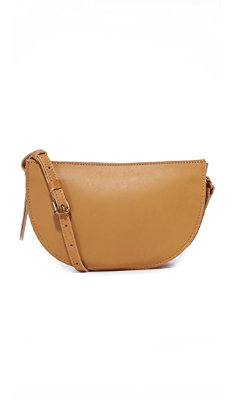 Madewell Half Moon Cross Body Bag - Cider