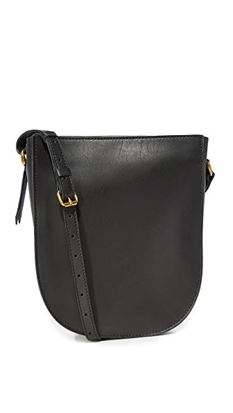 Madewell Medium Shoulder Bag - True Black