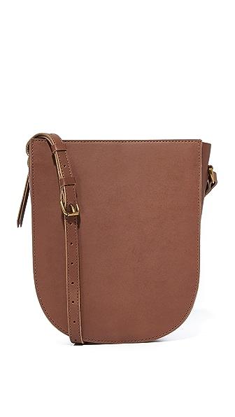 Madewell Medium Shoulder Bag - Rich Brown