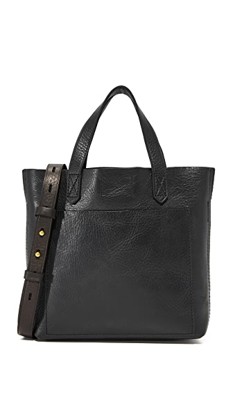 Madewell Mini Pocket Transport Tote - True Black