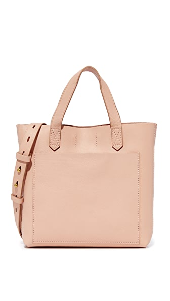 Madewell Mini Pocket Transport Tote - Tinted Blush