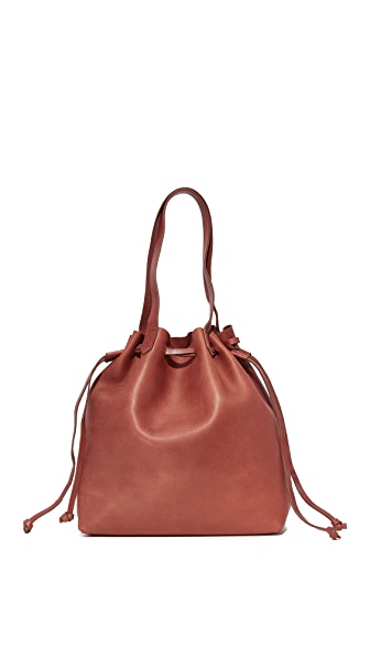 Madewell Drawstring Transport Tote - Vintage Redwood