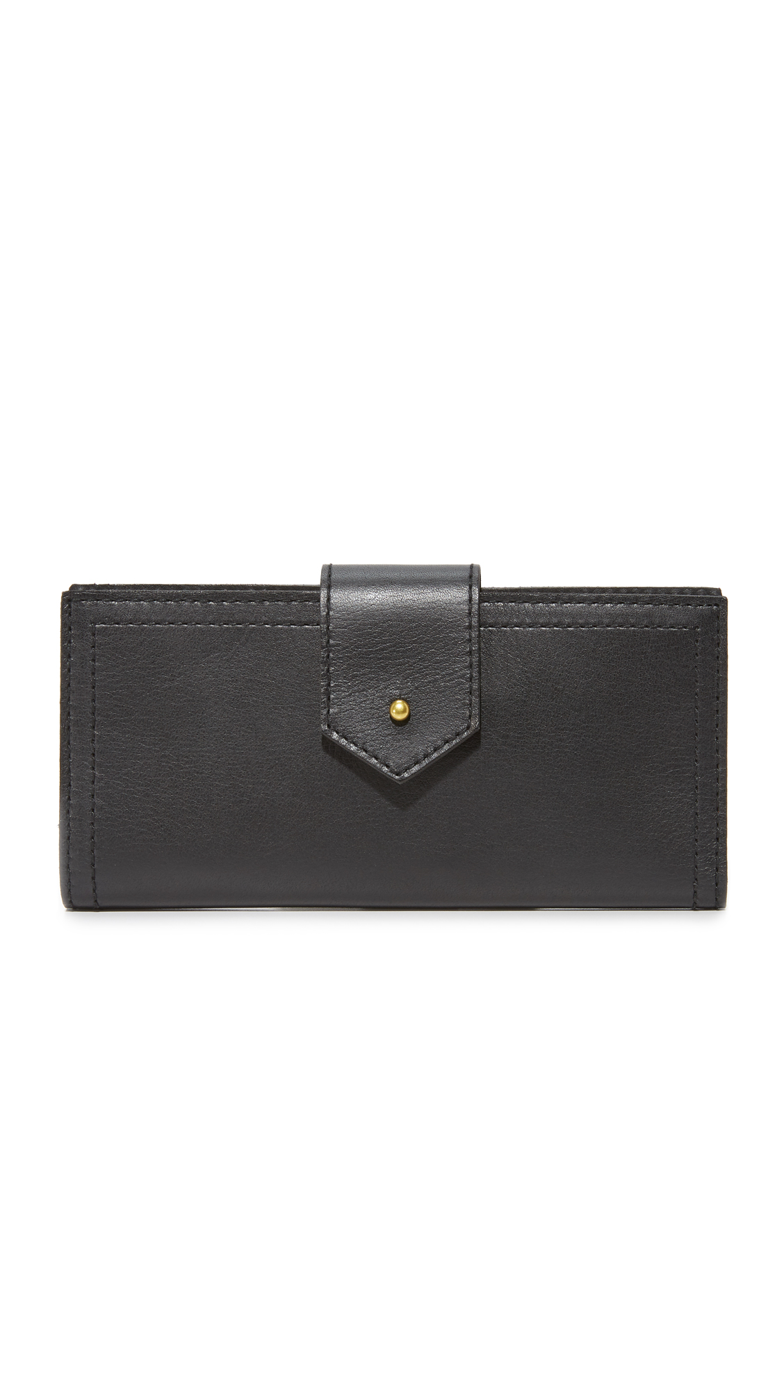 Madewell The Post Wallet - True Black