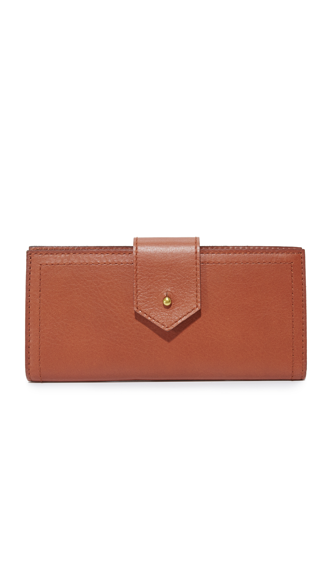 Madewell The Post Wallet - English Saddle