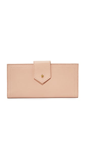Madewell Post Wallet - Tinted Blush