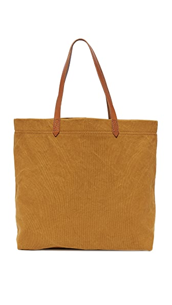Madewell Canvas Transport Tote - Acorn